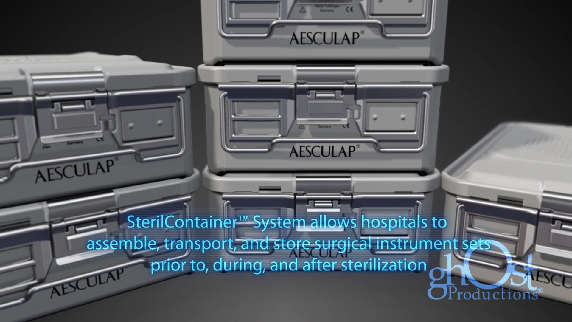 Aesculap Sterile Container